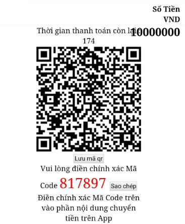 ngân hàng quét mã qr code 2