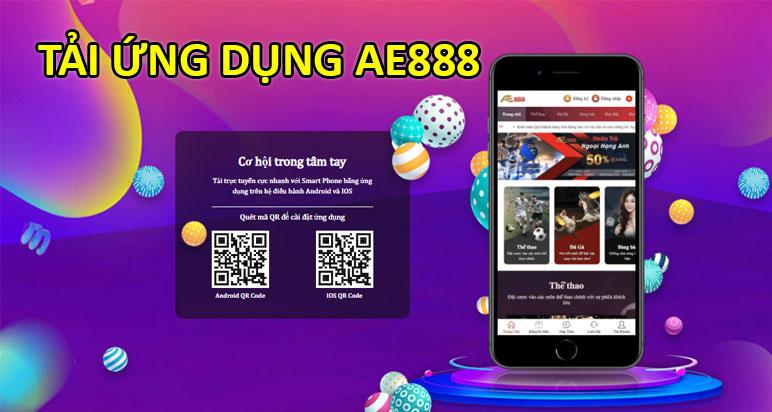 tải ứng dụng ae888 app