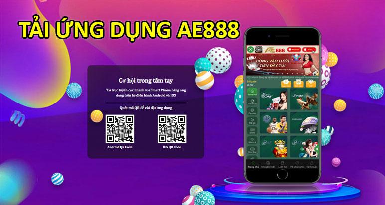Tải ứng dụng AE888 mới