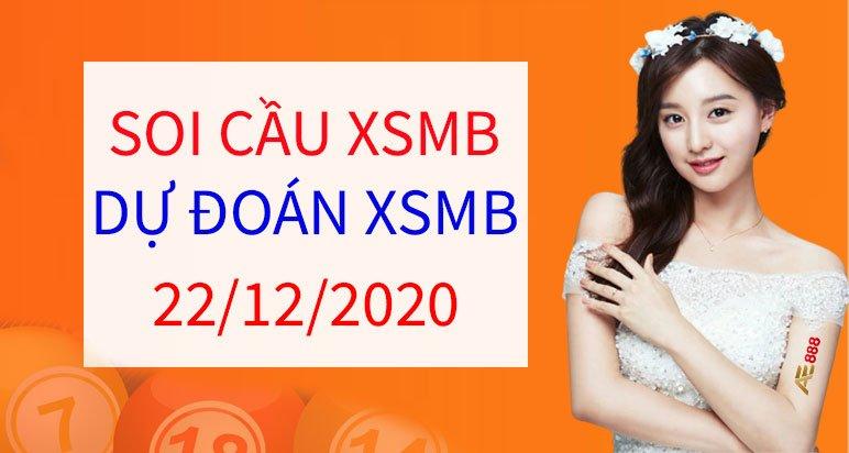 soi cau XSMB ngày 22/12/2020